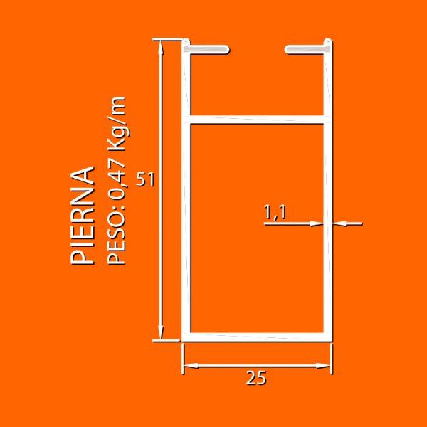 linea 25 liv – 7 pierna