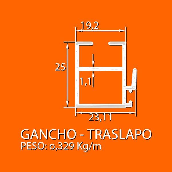 linea 5000 – 4 Gancho – traslapo