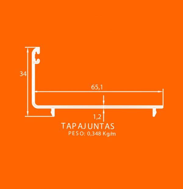 linea europea 06 Vidrio sencillo – 10 tapajuntas